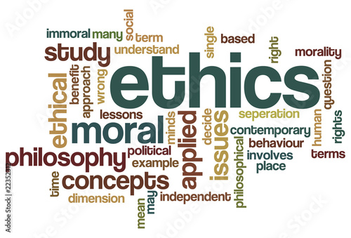 Ethics - Word Cloud