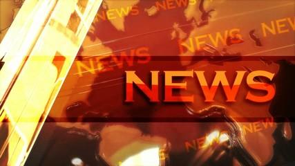 News gros titre 3D animation