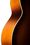 acoustic guitar body detail