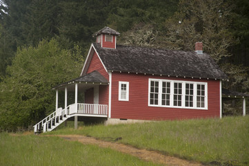 One-room schoolhouse