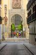 Tourists at Entrance to La Giralda, Sevilla