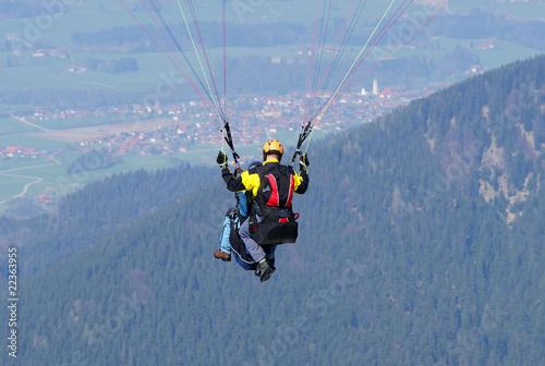 Gleitschirm Tandem Flug - Paragliding Tandem - 22363955