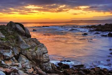 Beautiful Sunrise over Monterey