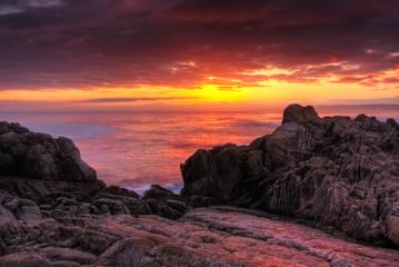 Beautifyl Red Monterey Sunrise