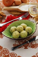 Malfatti alla ricotta e spinaci - Ricette della Lombardia