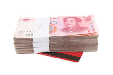chinese rmb and passbook