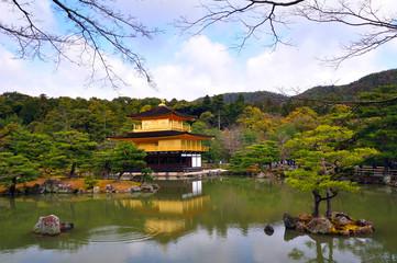 Kinkakuji temple Japan