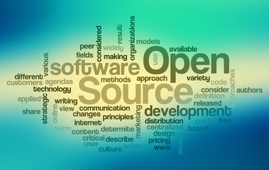 Open Source - Word Cloud