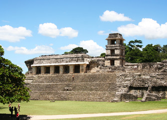 royal palace in palenque