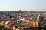 Rome - outlook from Vittorio Emanuel landmark