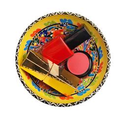 group of cosmetics