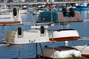 barca con ruote