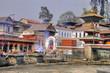 Pashupatinath Ghats of Kathmandu - Nepal / Himalaya