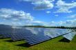 Leinwanddruck Bild - Solarkraftwerk 01