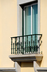 Window and balcony
