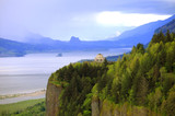The Columbia Gorge & Vista House, OR.
