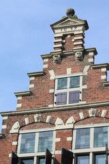traditional dutch crow stepped gable