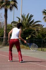 Prime lezione di Tennis