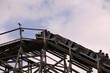 Holzachterbahn Mammut im Erlebnispark Tripsdrill