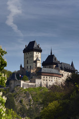 Karlstejn - famous Gothic castle founded 1348