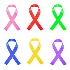 Ribbons Illustration
