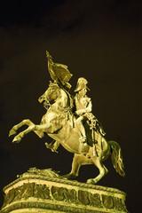 Vienna's Erzh Karl Statue, Austria