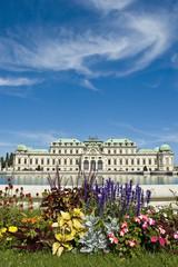 Vienna's Belvedere Palace gardens