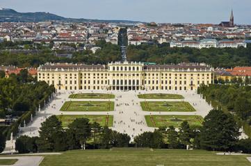 Vienna's Schloss Schonbrunn palace, Austria