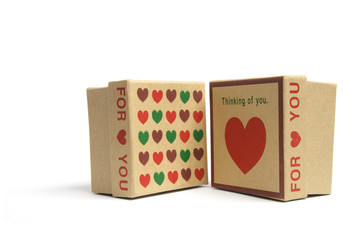 Love Heart Gift Boxes