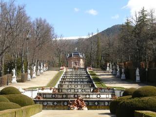 Jardín del Palacio de La Granja de San Ildefonso, Segovia