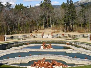 Fuente del Palacio de La Granja de San Ildefonso, Segovia