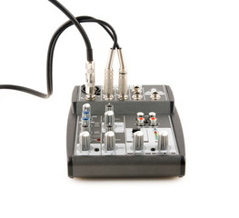 mixer (isolated on the white)