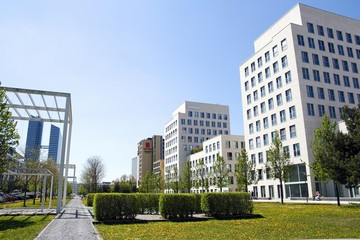 Business quarter in Munich
