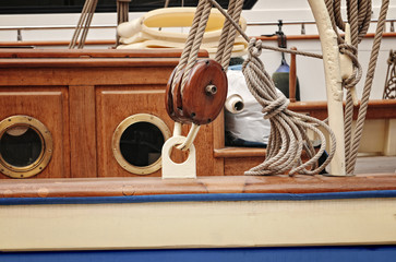 sail yacht rigging