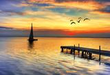 Fototapety mar de colores