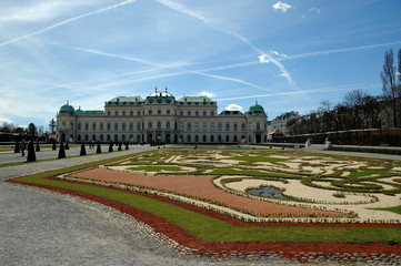 Castello Belvedere Superiore e giardino - Vienna