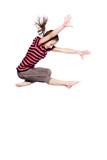 Fototapety Springendes Mädchen