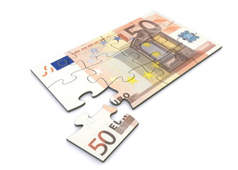 50 Euro Note Puzzle