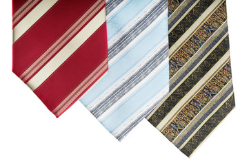 man wear accessory neckties isolated