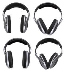 Headphones set isolated