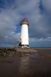 Lighthouse on Talacre Beach