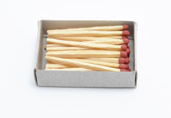 Matches are in a box