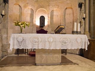 St. John The Baptist Altar. Matera. Basilicata.