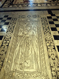Siena - Duomo interior.etched and inlaid marble floor panels poster