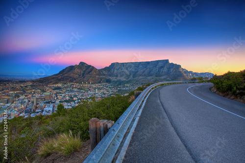 Table Mountain Road © Nolte Lourens