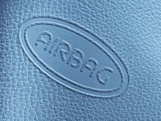 Airbag label