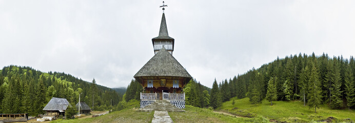 Sarbi, traditional church of northern Romania
