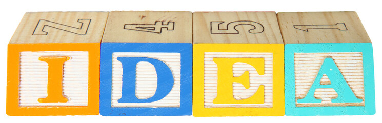 Alphabet Blocks IDEA