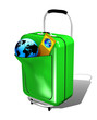 Valigia Trolley-Trolley Suitcase-3d