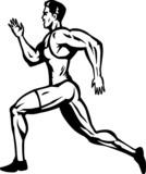 Stylized Sprinter poster
